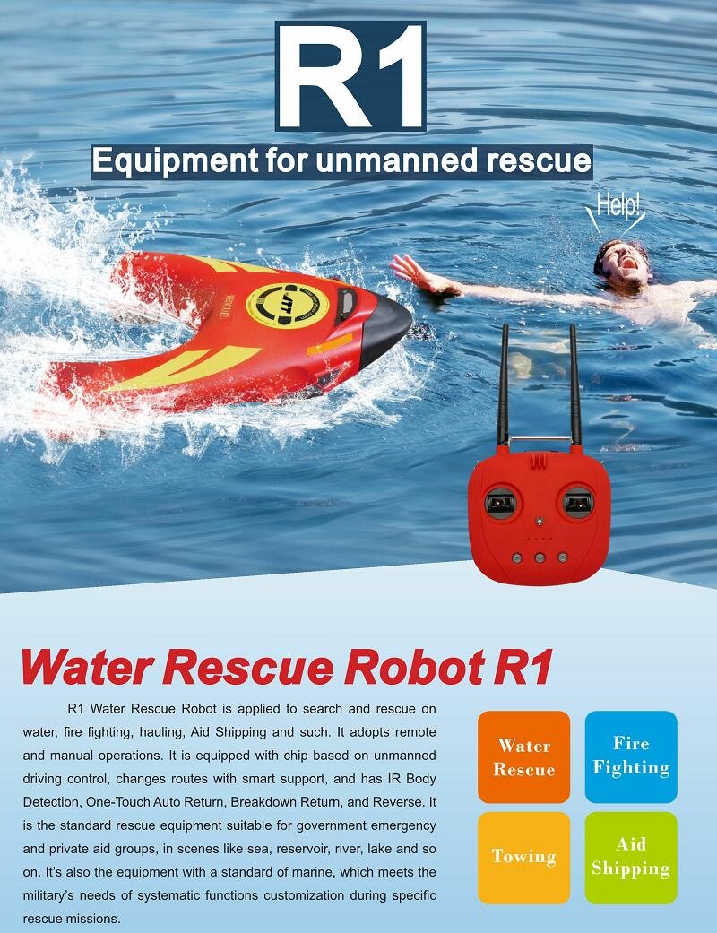Water Rescue Robots
