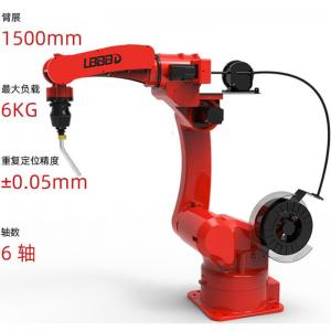 OEM 6 Axis MIG Welding Robot warranty longer than abb kuka yaskawa