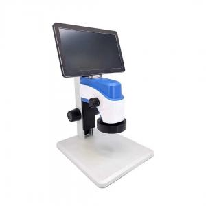 China best electron microscop with monitor for PCB board inspection job
